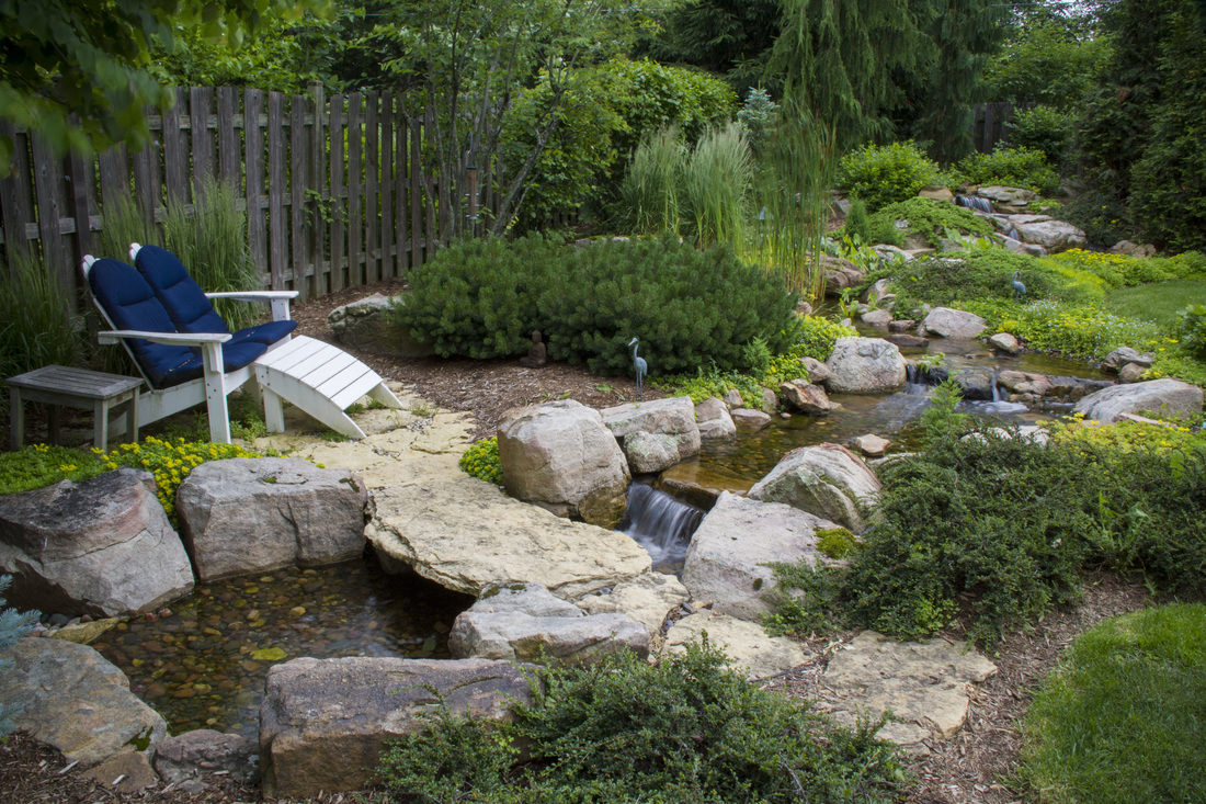 nashville disappearing pondless waterfall contractor brentwood tn